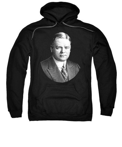 President Herbert Hoover Graphic Sweatshirt