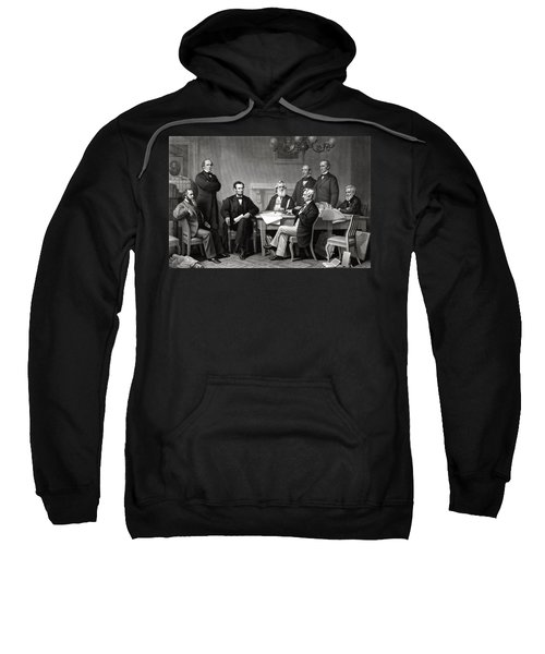 President Lincoln And His Cabinet Sweatshirt