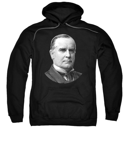 President Mckinley Graphic Sweatshirt