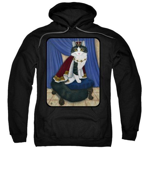 Prince Anakin The Two Legged Cat - Regal Royal Cat Sweatshirt