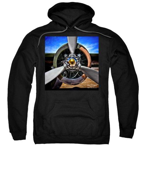 Propeller Art   Sweatshirt