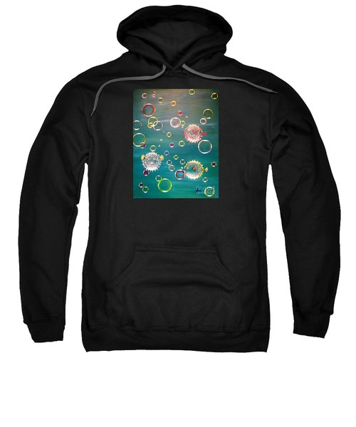 Puffer Fish Bubbles Sweatshirt