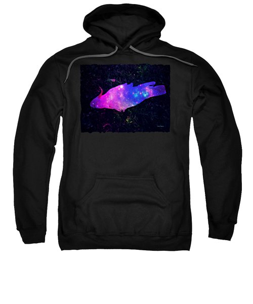 Pulling Weeds In Time And Space Sweatshirt