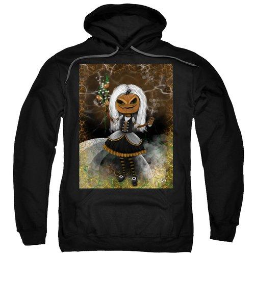 Pumpkin Spice Latte Monster Fantasy Art Sweatshirt