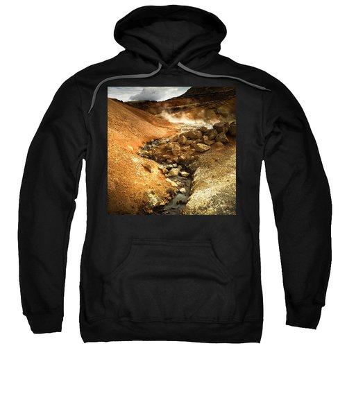Pure Iceland - Geothermal Area Krysuvik Sweatshirt