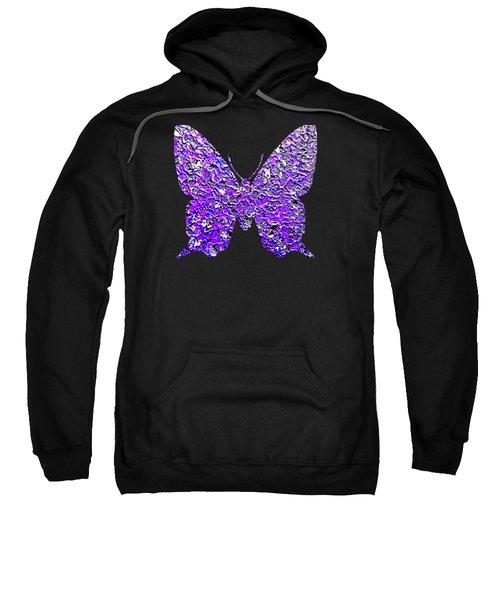 Purple Butterfly  Sweatshirt