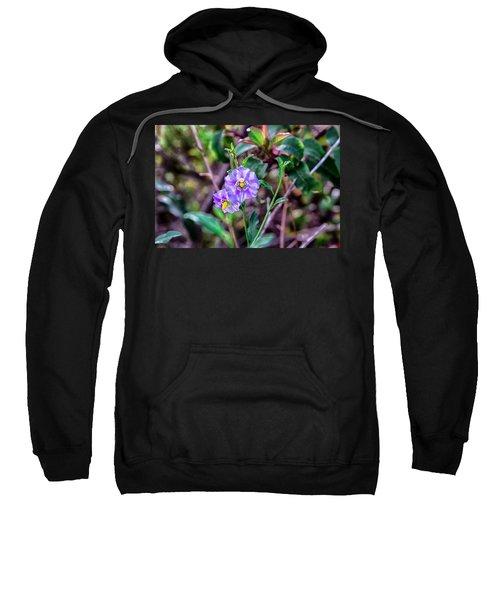 Purple Flower Family Sweatshirt