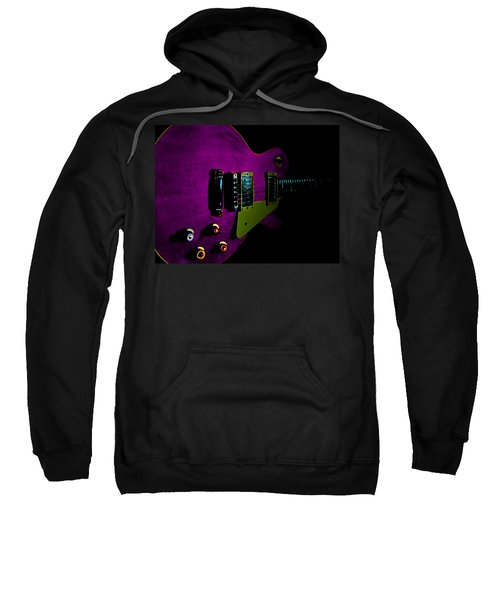 Purple Relic Les Paul II Hover Series Sweatshirt