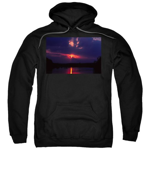 Purple Sunset Sweatshirt
