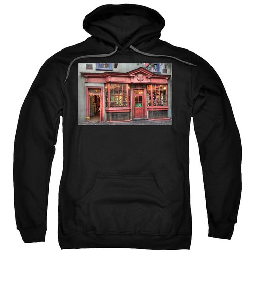 Sweatshirt featuring the photograph Quality Quidditch Supplies by Jim Thompson
