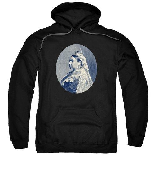 Queen Victoria Engraving - Her Majesty The Queen Sweatshirt