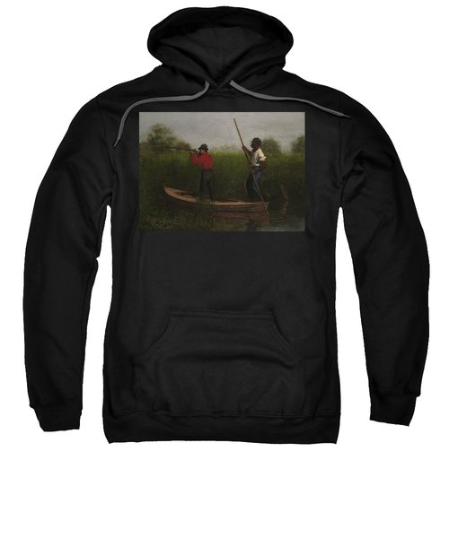 Rail Shooting On The Delaware Sweatshirt