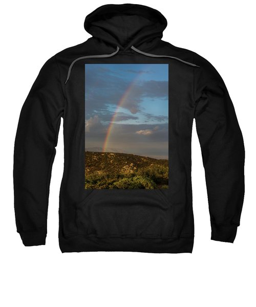 Rainbow Above Lagunas Sweatshirt
