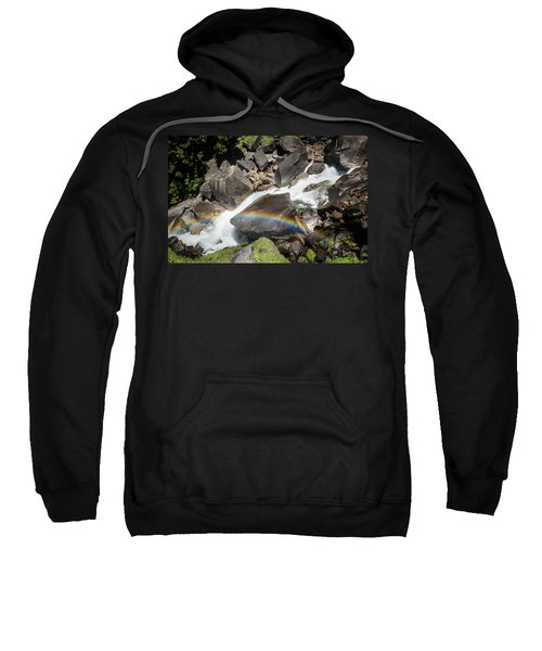 Rainbow At Vernal Falls- Sweatshirt