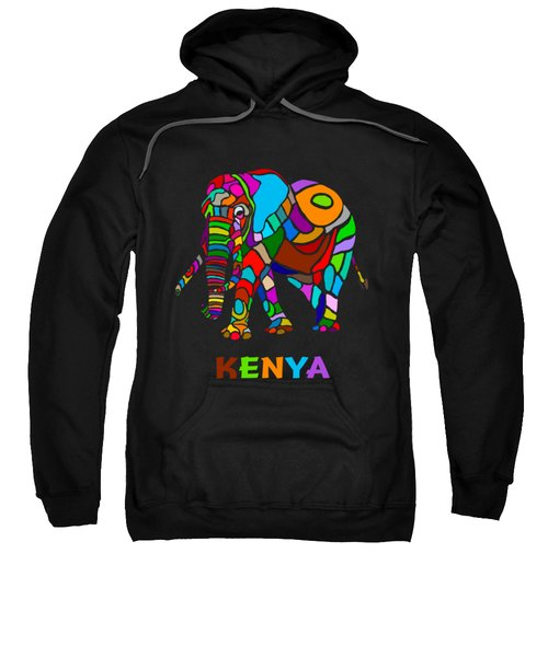 Rainbow Elephant Sweatshirt