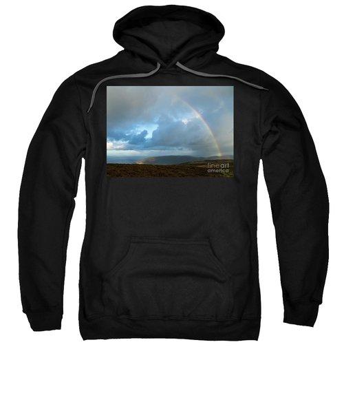 Rainbow Over Porlock Hill Sweatshirt