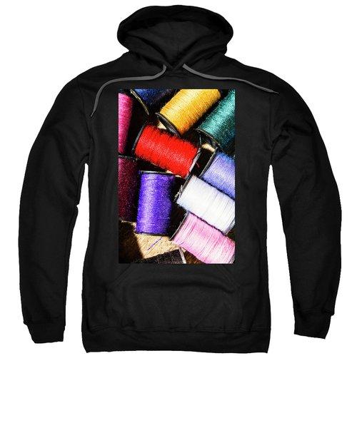 Rainbow Threads Sewing Equipment Sweatshirt