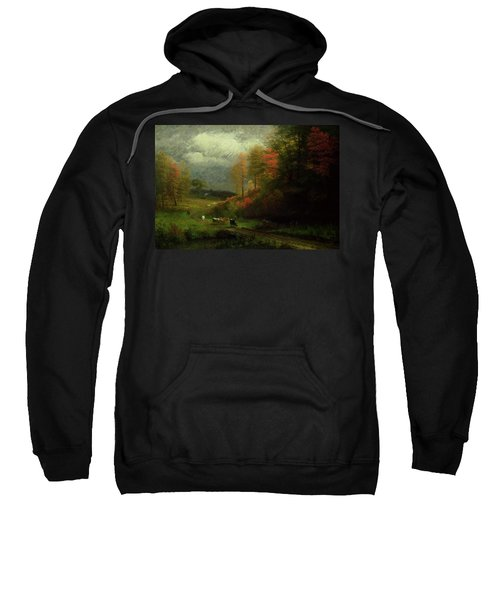 Rainy Day In Autumn Sweatshirt