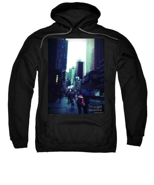 Rainy Day New York City Sweatshirt