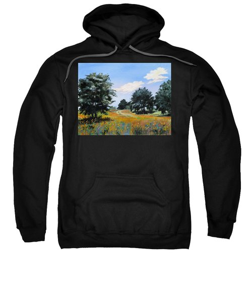 Ranch Road Near Bandera Texas Sweatshirt