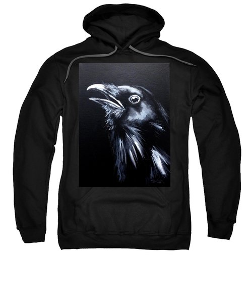 Raven Warning Sweatshirt