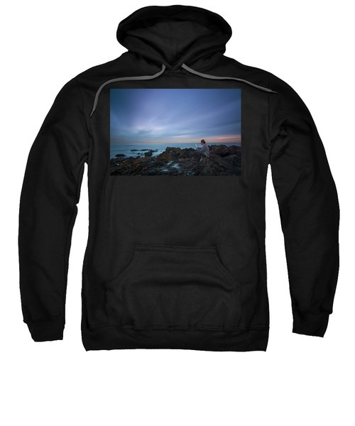 Reading Lets You Mind Travel Through Time  Sweatshirt