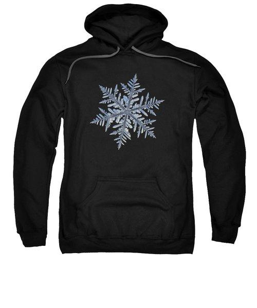 Real Snowflake - Silverware Black Sweatshirt