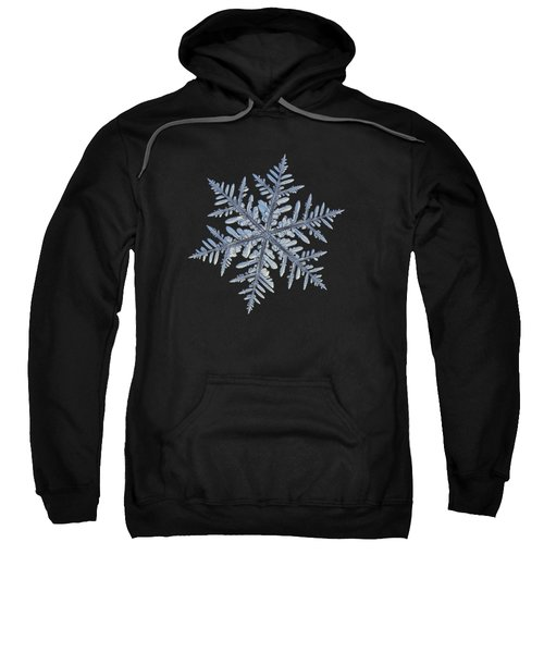 Real Snowflake - Silverware Black Sweatshirt