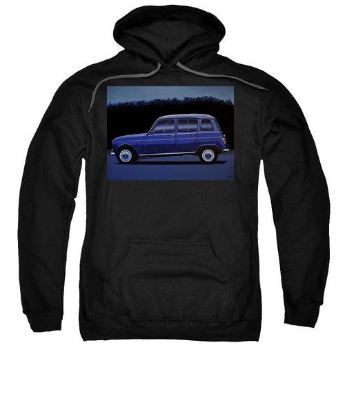 Renault 4 1961 Painting Sweatshirt
