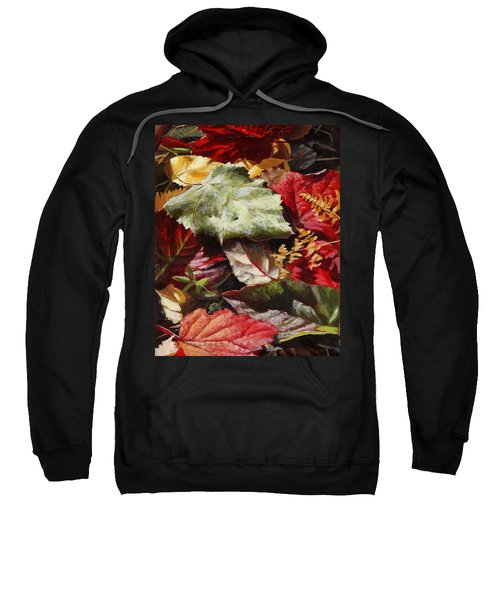 Red Autumn - Wasilla Leaves Sweatshirt