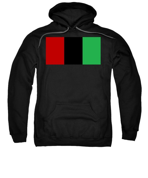 Red Black And Green Sweatshirt