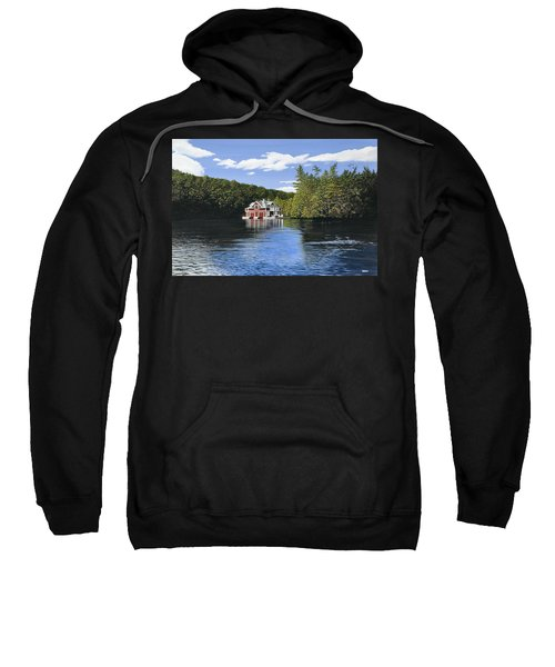 Red Boathouse Sweatshirt