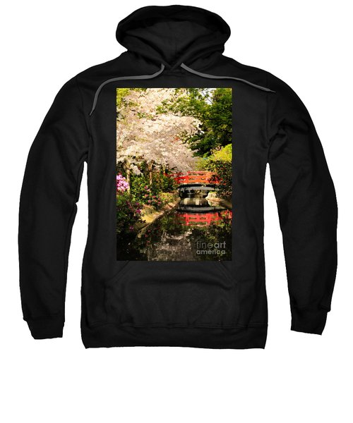 Red Bridge Reflection Sweatshirt