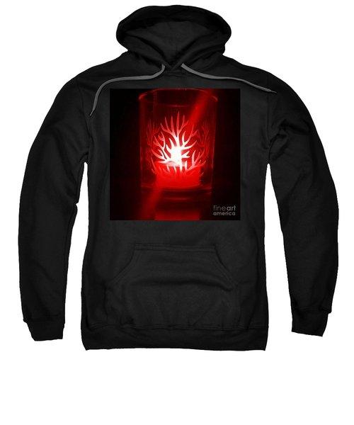 Red Candle Light Sweatshirt