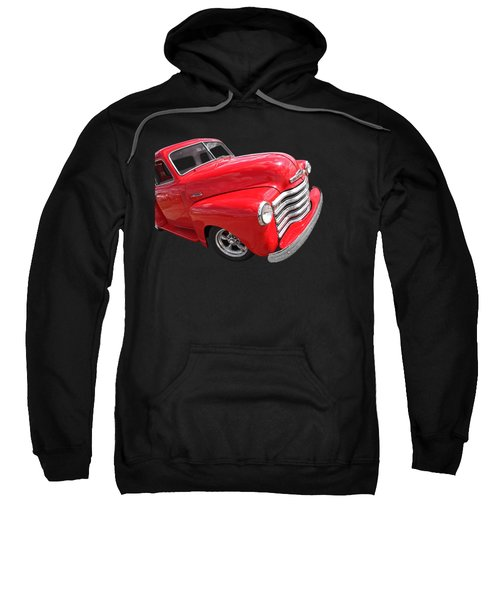 Red Chevy Pickup Sweatshirt