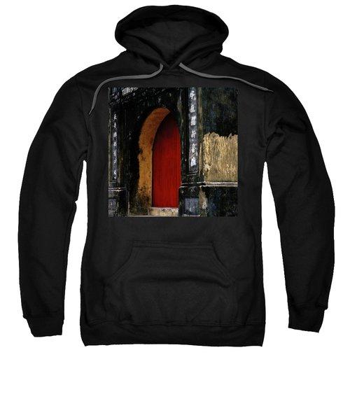 Red Doorway Sweatshirt