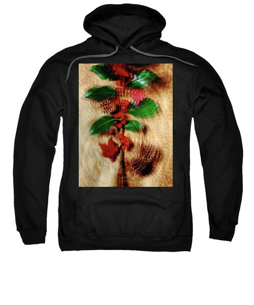 Red Holly Spinning Sweatshirt
