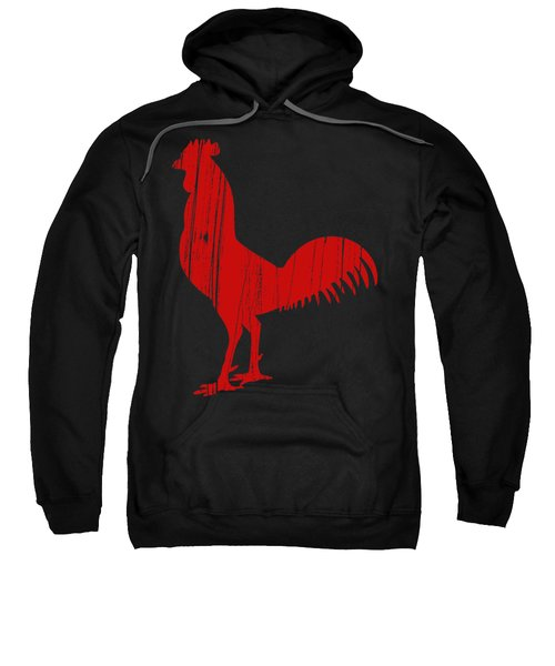 Red Rooster Tee Sweatshirt