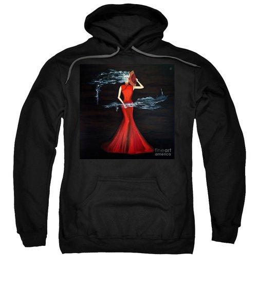 Scented Red Color Sweatshirt