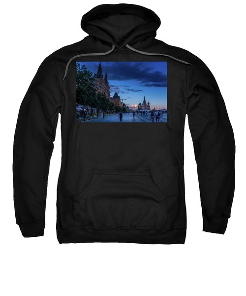 Red Square At Dusk Sweatshirt