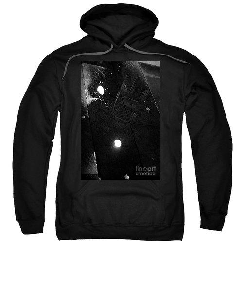 Reflection Of Wet Street Sweatshirt