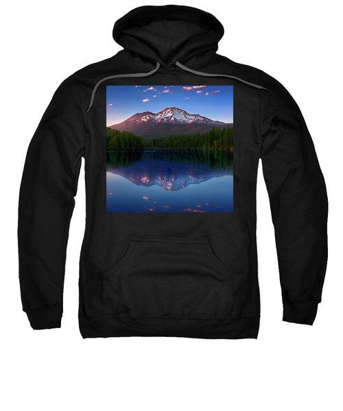 Reflection On California's Lake Siskiyou Sweatshirt