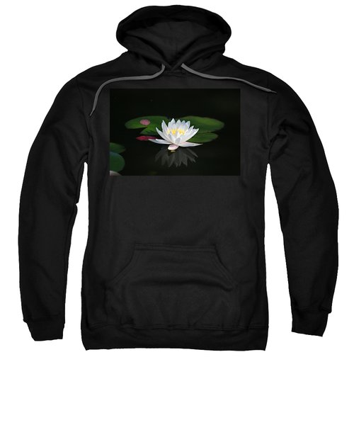 Reflections Of A Water Lily Sweatshirt