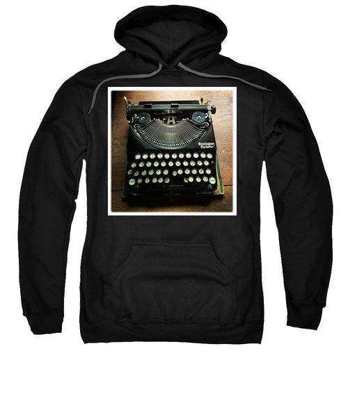Remington Portable Old Used Typewriter Sweatshirt