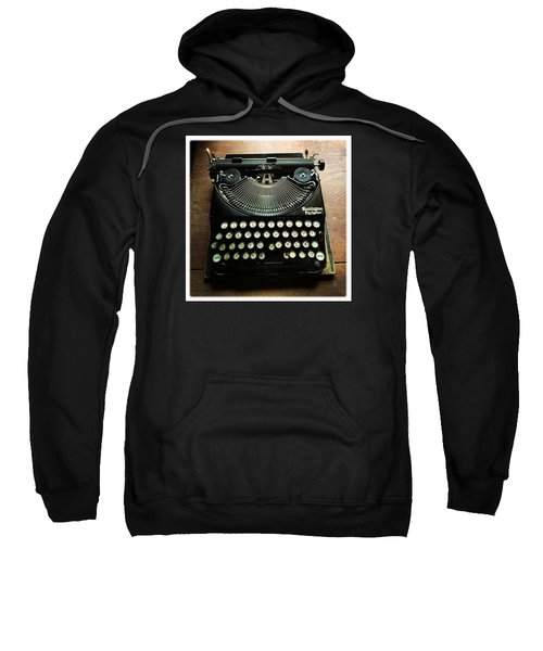 Remington Portable Old Used Typewriter Sweatshirt