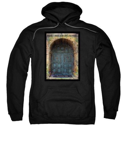 Revelation 3 Vs 20 Sweatshirt