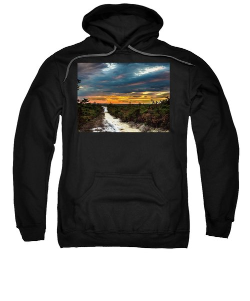 Road Into The Pinelands Sweatshirt