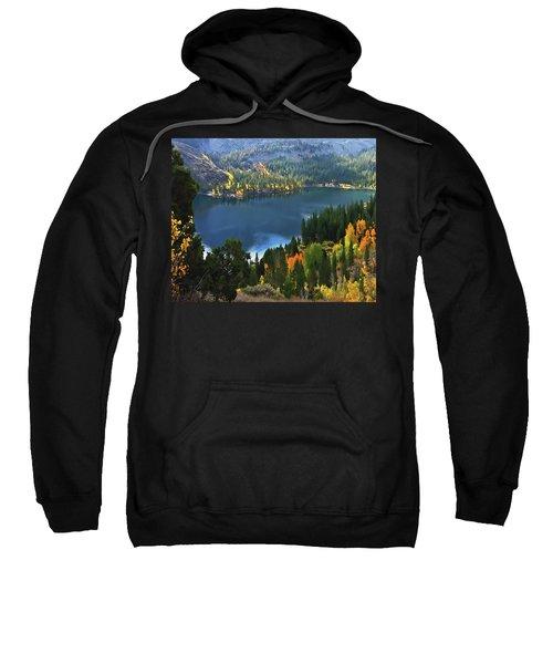 Rock Creek Lake In Fall Sweatshirt