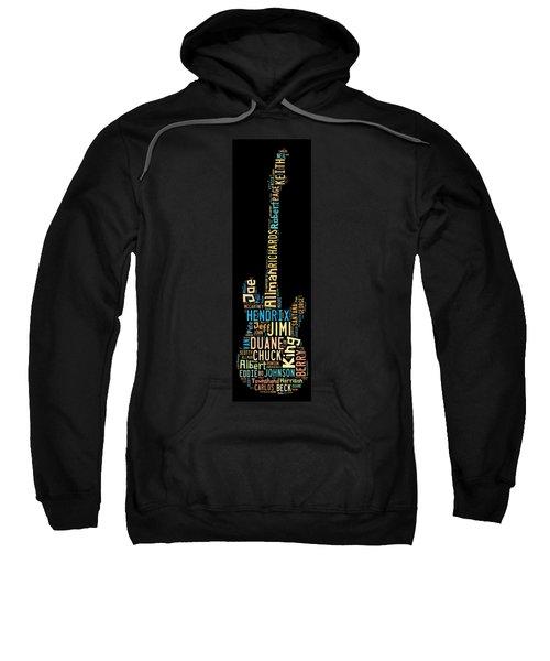 Rock Guitar Legends Sweatshirt