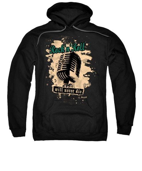 Rock-n-roll Microphone  Sweatshirt